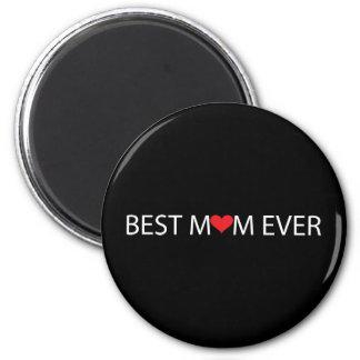Beste Mamma überhaupt Runder Magnet 5,7 Cm