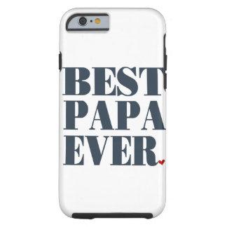 Beste Papa überhaupt iPhone 6 starker Fall Tough iPhone 6 Hülle