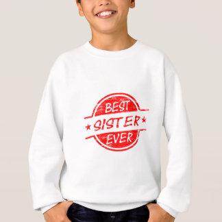 Beste Schwester überhaupt rot Sweatshirt