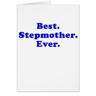 Beste Stiefmutter überhaupt Grußkarte