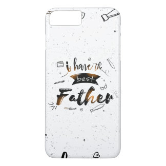 Beste Vater-Apple iPhone 7 Plusfall iPhone 8 Plus/7 Plus Hülle