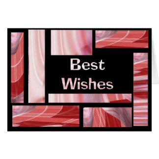 Beste Wünsche Karte