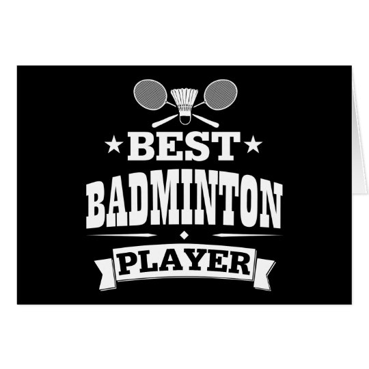 Bester Badminton-Spieler Karte