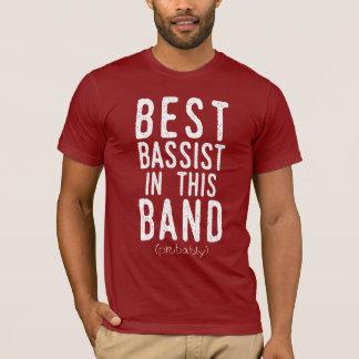 Bester Bassist (vermutlich) (weiß) T-Shirt