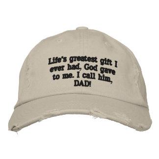 Bester der Vatertags-Hut überhaupt! Bestickte Baseballcaps