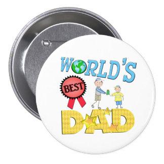 Bester der Vatertags-Knopf Vati- Anstecknadel
