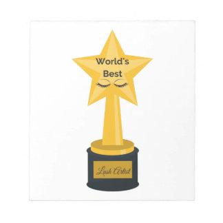 Bester die Peitschen-Künstler der Welt! Notizblock