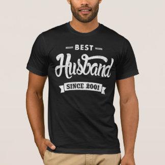 Bester Ehemann seit 2001 T-Shirt