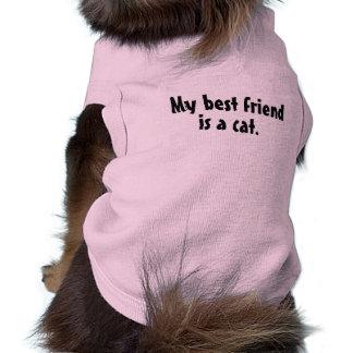 Bester Freund-Haustier-Kleidung Ärmelfreies Hunde-Shirt