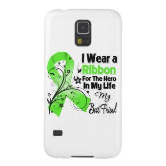 Bester Freund-Held in meinem Leben-Lymphom-Band Samsung Galaxy S5 Hüllen