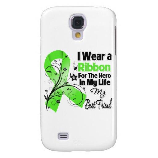 Bester Freund-Held in meinem Leben-Lymphom-Band Galaxy S4 Hülle