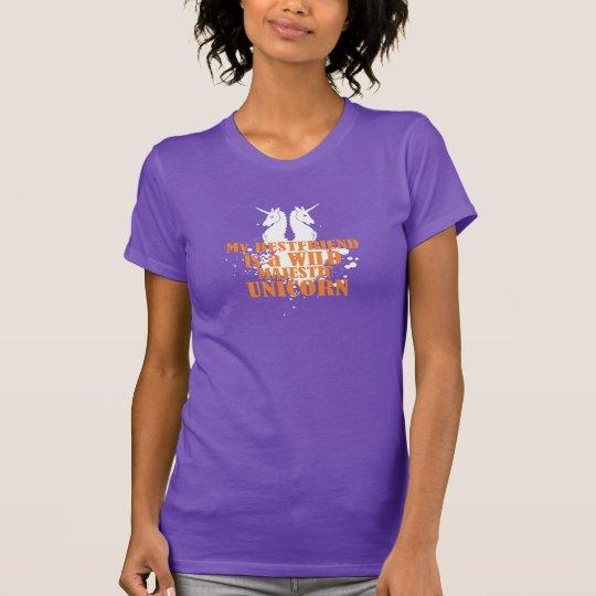 Bester Freund ist lustiges T-Shirt des wilden