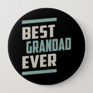 Bester Grandad überhaupt Runder Button 10,2 Cm
