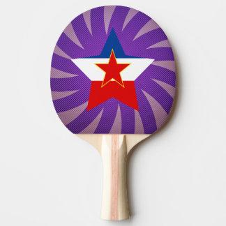 Bester Jugoslawien-Flaggen-Entwurf Tischtennis Schläger