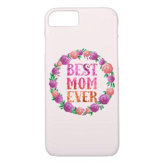 Bester Mamma-überhaupt - BlumenKranz iPhone 8/7 Hülle