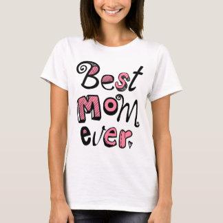 Bester Mamma-überhaupt Text-Entwurf T-Shirt