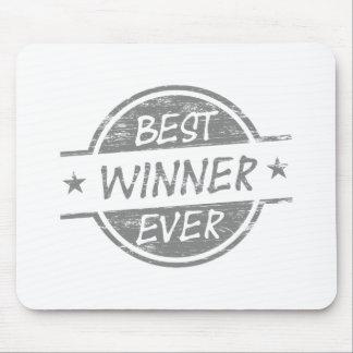Bester Sieger überhaupt grau Mauspad