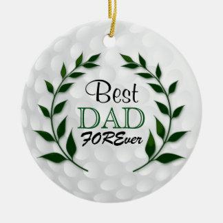 Bester Text des Golf-Vati-| DIY Keramik Ornament