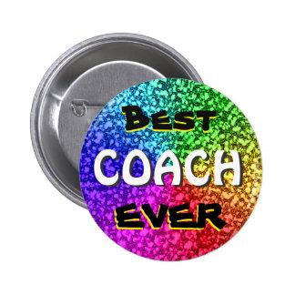 Bester Trainer-überhaupt Knopf Runder Button 5,7 Cm