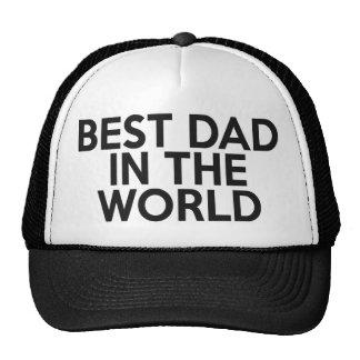 Bester Vati im Weltfernlastfahrer-Hut Baseballcap