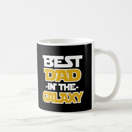 Bester Vati in der Sprichwort-Kaffee-Tasse der Kaffeetasse