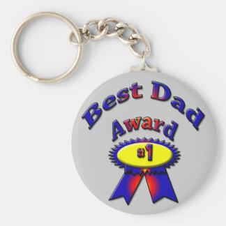 Bester Vati-Preis Standard Runder Schlüsselanhänger