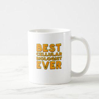 Bester zellulärer Biologe überhaupt Kaffeetasse