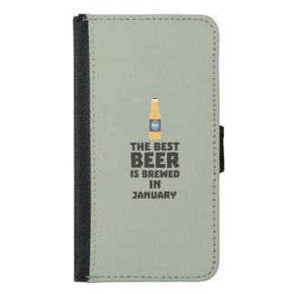 Bestes Bier ist gebrautes im Mai Z96o7 Samsung Galaxy S5 Geldbeutel Hülle