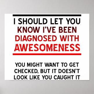Bestimmt mit Awesomeness Plakat