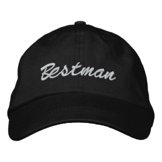 Bestman stickte Hut Bestickte Mütze