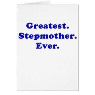 Bestste Stiefmutter überhaupt Grußkarte