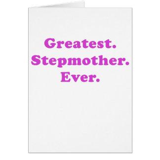 Bestste Stiefmutter überhaupt Karte