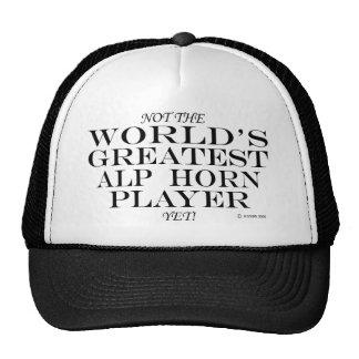 Bestster Alpen-Horn-Spieler schon Truckermützen