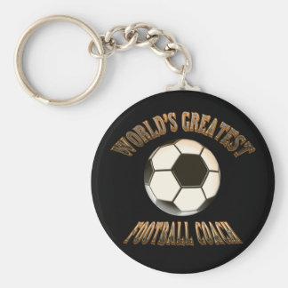 Bestster der Fußball-Trainer der Welt Schlüsselanhänger