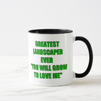 Bestster Landschaftsgestalter-überhaupt Witz Tasse