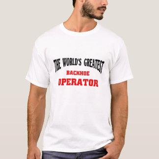 Bestster Löffelbagger-Betreiber T-Shirt