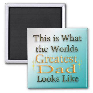 Bestster Vati - der Vatertags-Magnet Kühlschrankmagnete