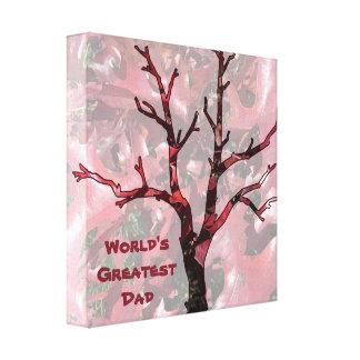 Beststes der Vati-rote Eichen-Blätter der Welt, Galerie Gefaltete Leinwand