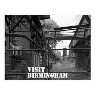 Besuch Birmingham Postkarte