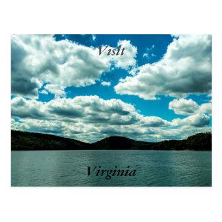 Besuchs-Virginia-Postkarte 4 Postkarte