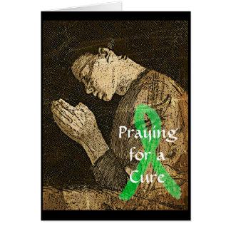 Beten für eine Heilung für alle. Grußkarte