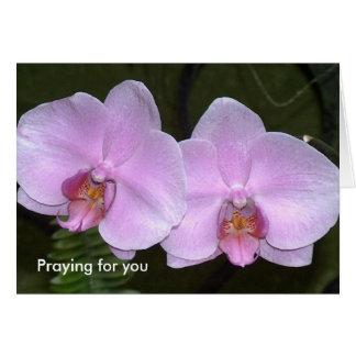 Beten für Sie Grußkarte