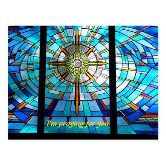 Beten für Sie Postkarte