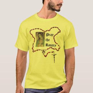 Beten Sie das Rosenbeet T-Shirt