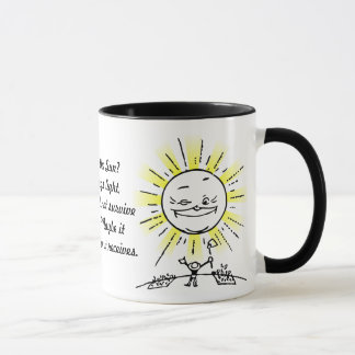 Beten Sie den Sun an! Tasse