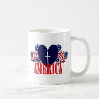 Beten Sie für Amerika Kaffeetasse