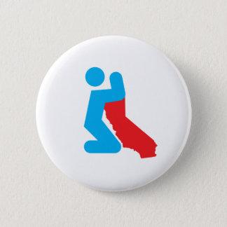 Beten Sie für Cali Knopf Runder Button 5,7 Cm