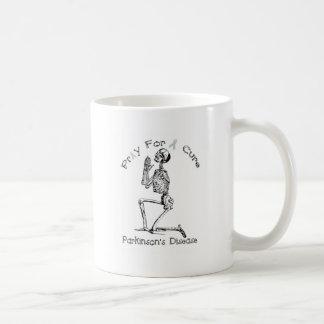 Beten Sie für eines Heilung-Parkinson Krankheit Kaffeetasse