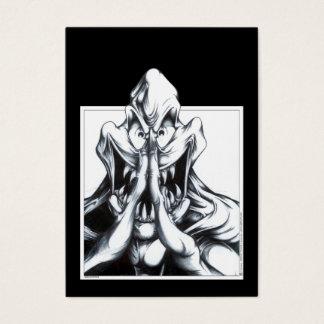 Beten Sie für Opfer Visitenkarte
