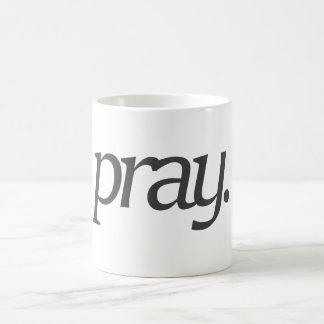 beten Sie Kaffeetasse